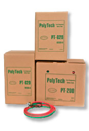 Fiberglass cloth package, roll, and box